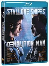 La copertina di Demolition Man (blu-ray)