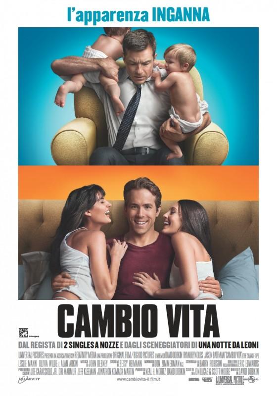 Cambio vita: la locandina italiana del film