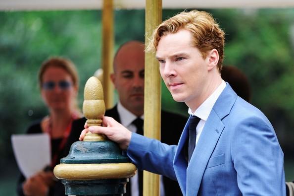 68esima Mostra del Cinema di Venezia: l'attore Benedict Cumberbatch presenta La talpa
