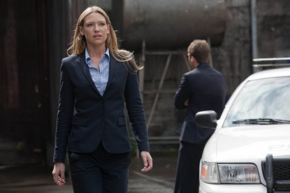 Fringe: Anna Torv in una scena dell'episodio Neither Here Nor There