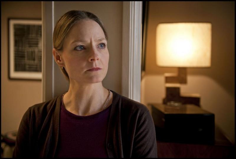 Jodie Foster in una sequenza di Carnage