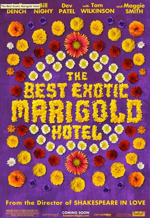 La locandina di The Best Exotic Marigold Hotel