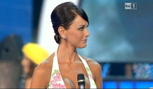 Miss Italia 2011: Arianna David dopo una sfilata