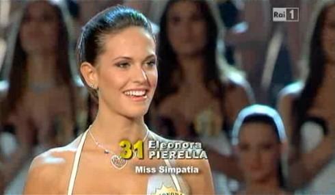 Miss Italia 2011: Eleonora Pierella è eletta Miss Simpatia