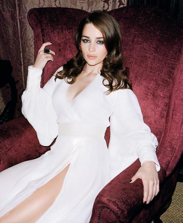 Emilia Clarke nel 2011