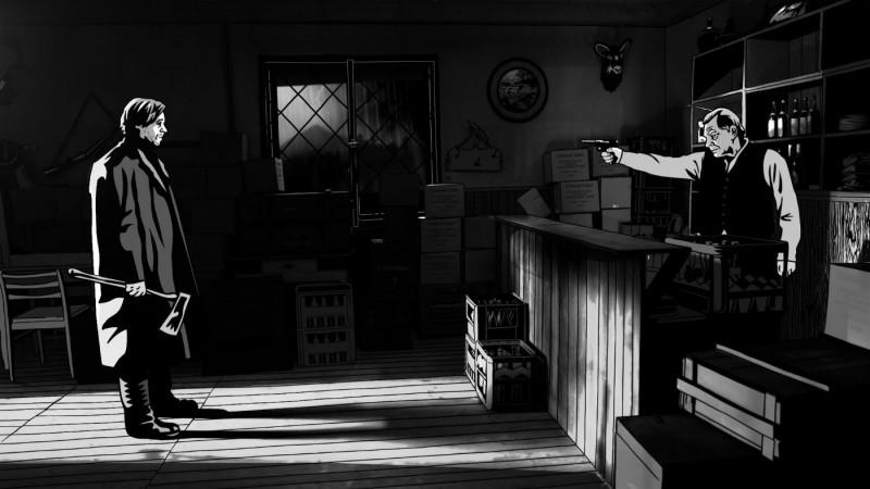 Una tesa scena del film Alois Nebel (2011)