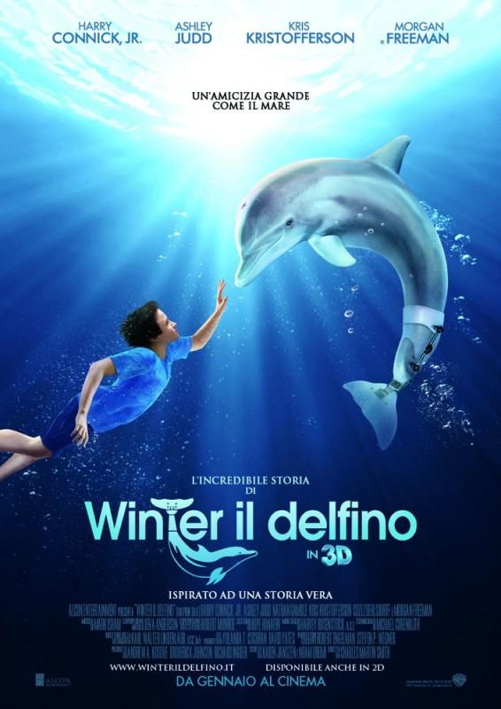 L'incredibile storia di Winter il delfino: locandina italiana