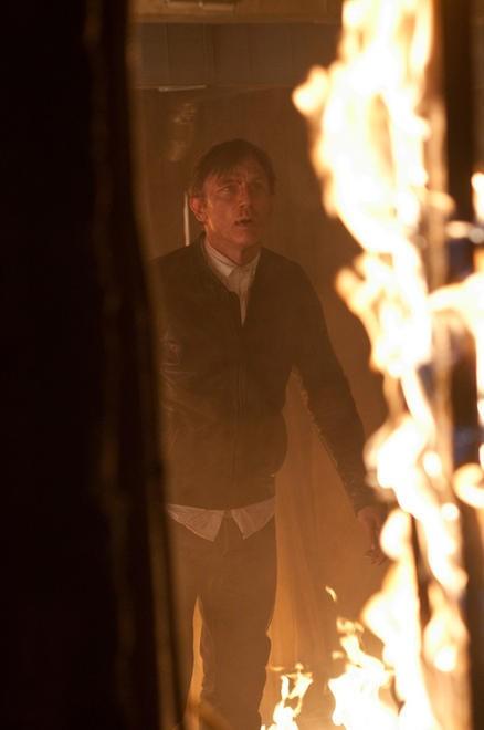 Daniel Craig in una scena del film Dream House