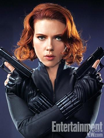 Scarlett Johansson è Black Widow in The Avengers - I vendicatori