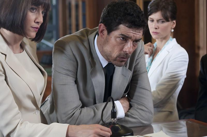 Ex: Amici come prima!: Alessandro Gassman in una scena con Anna Foglietta e Veronica Logan