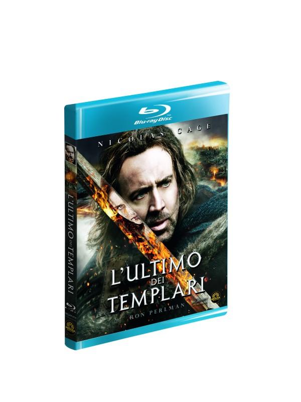 La copertina di L'ultimo dei templari (blu-ray)