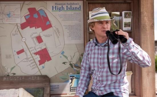Owen Wilson in una scena di The Big Year