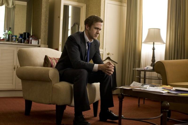 Ryan Gosling in una scena di The Ides of March
