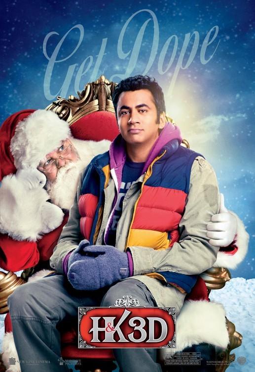 A Very Harold & Kumar Christmas: Character poster 2 per Kal Penn