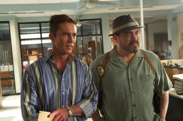Desmond Harrington e David Zayas in Those Kinds of Things, première della sesta stagione di Dexter