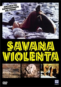 La copertina di Savana violenta (dvd)