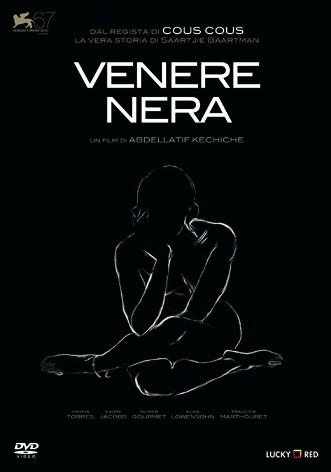 La copertina di Venere nera (dvd)