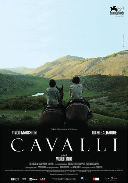 Cavalli: la locandina del film