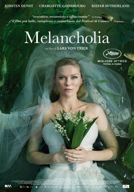 Melancholia: la locandina italiana del film