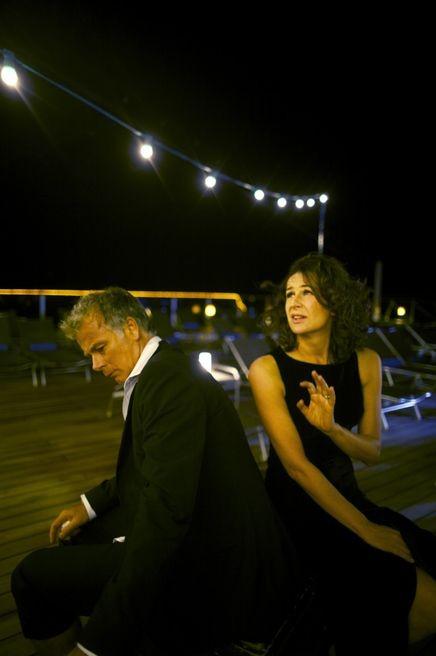 Bienvenue à bord, Franck Dubosc a con Valérie Lemercier