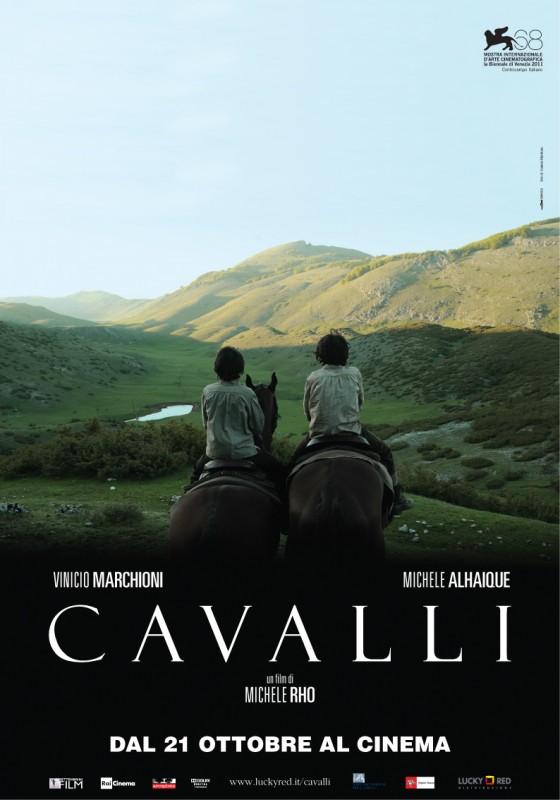 Cavalli: la locandina ufficiale del film