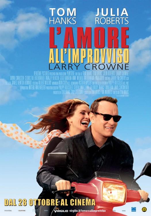 L'amore all'improvviso - Larry Crowne: locandina italiana