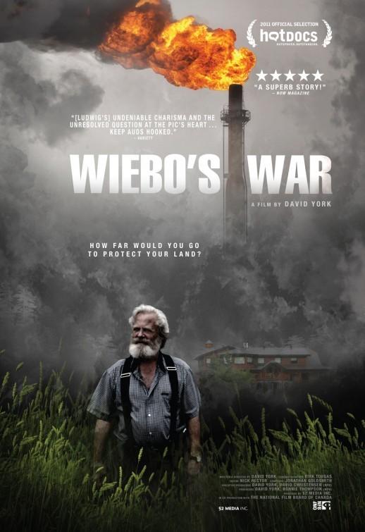 La locandina di Wiebo's War