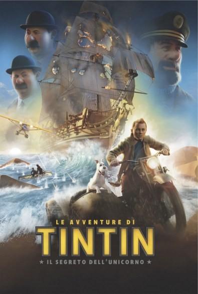 Le avventure di Tintin: il segreto dell'unicorno - una locandina italiana