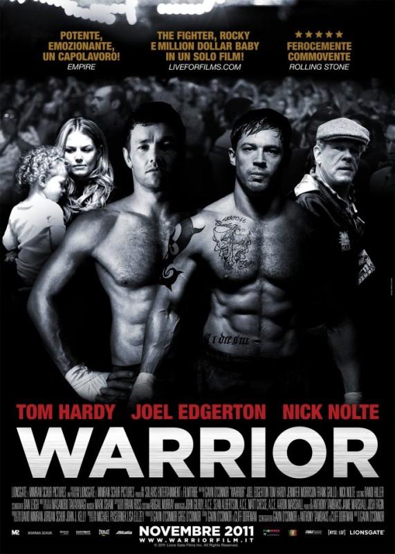 Locandina italiana di Warrior