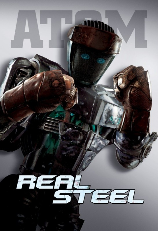 Real Steel: un character poster di Atom