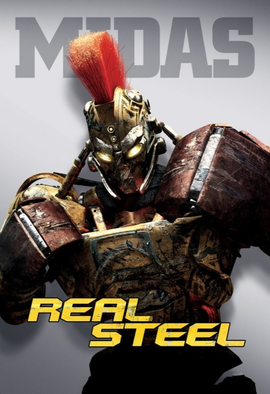 Real Steel: un character poster di Midas