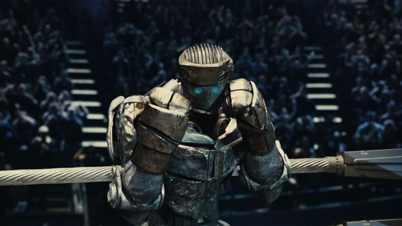 Real Steel: uno dei robot del film