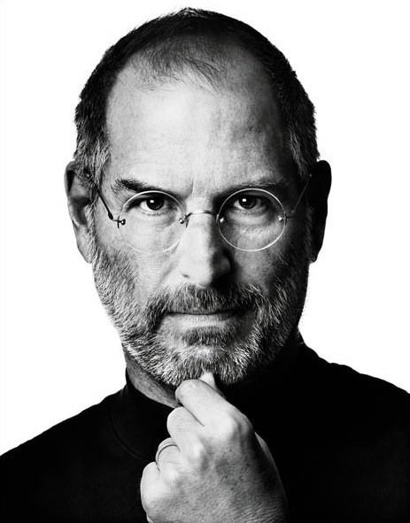 Steve Jobs in un ritratto