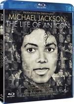 La copertina di Michael Jackson: The Life of a Icon (blu-ray)