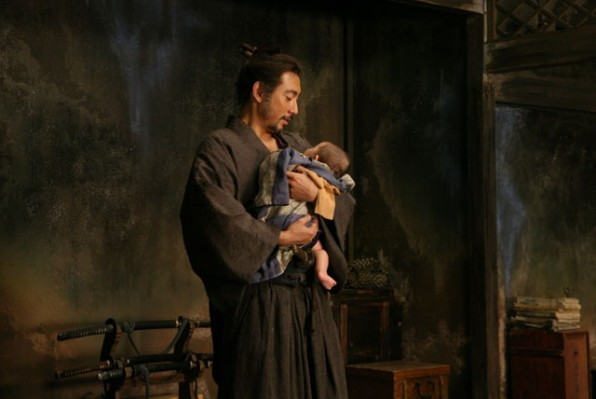 Scena del film Ichimei di Takashi Miike