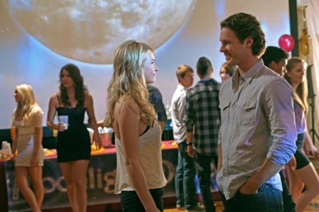 The Secret Circle: Britt Robertson e Zachary Abel nell'episodio Loner