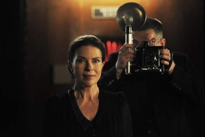 Wunderkinder: Gudrun Landgrebe in una scena del dramma storico