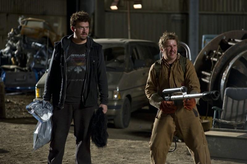 30 Minutes or Less: Danny McBride e Nick Swardson in una scena del film