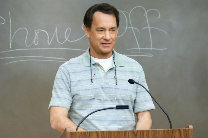 L'amore all'improvviso - Larry Crowne: Tom Hanks in un frammento del film