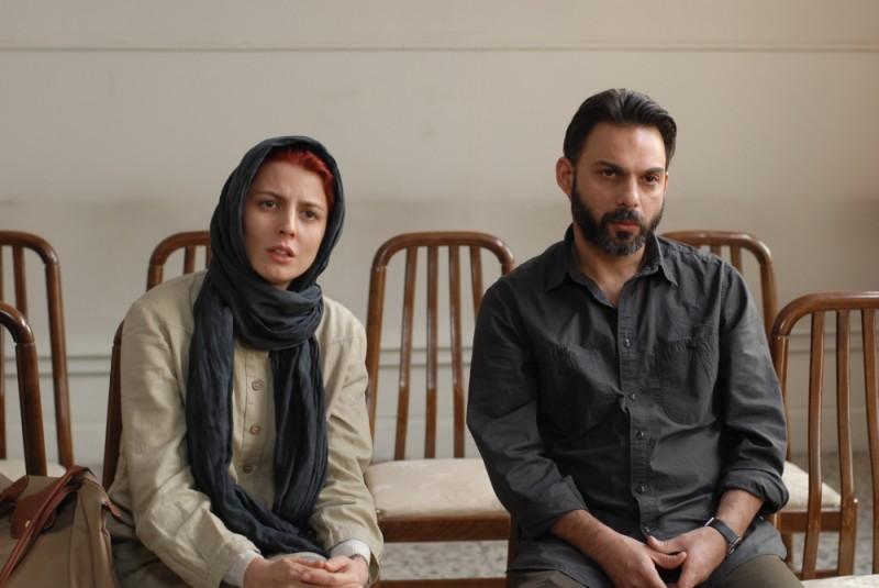 Leila Hatami e Peyman Moadi in una scena di Una separazione