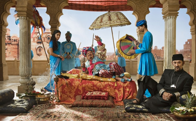 Maga Martina 2 - Viaggio in India: una bizzarra scena tratta dal film