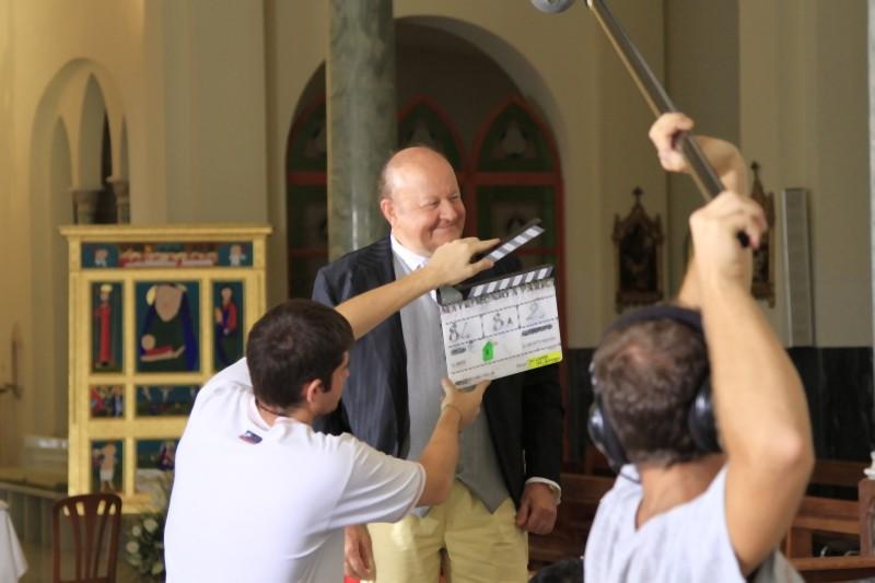 Matrimonio a Parigi: Massimo Boldi sul set del film