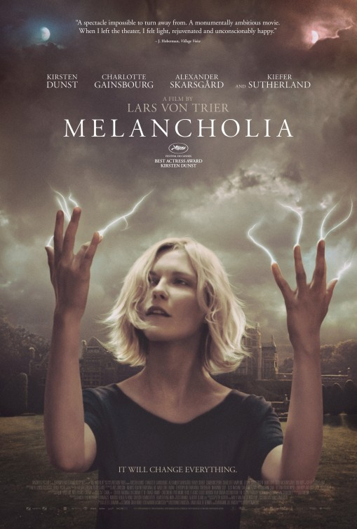 Melancholia: nuovo poster USA