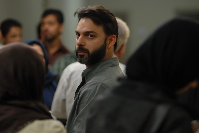 Peyman Moadi in una drammatica scena di Una separazione