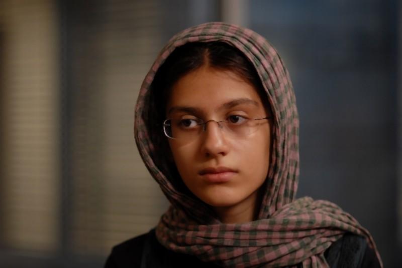 Sarina Farhadi in una scena di Una separazione