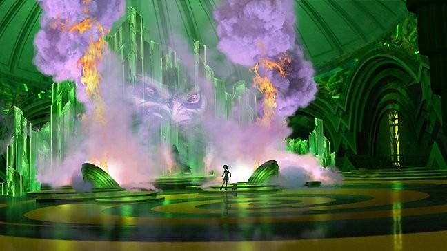 Un'immagine del film d'animazione Dorothy of Oz