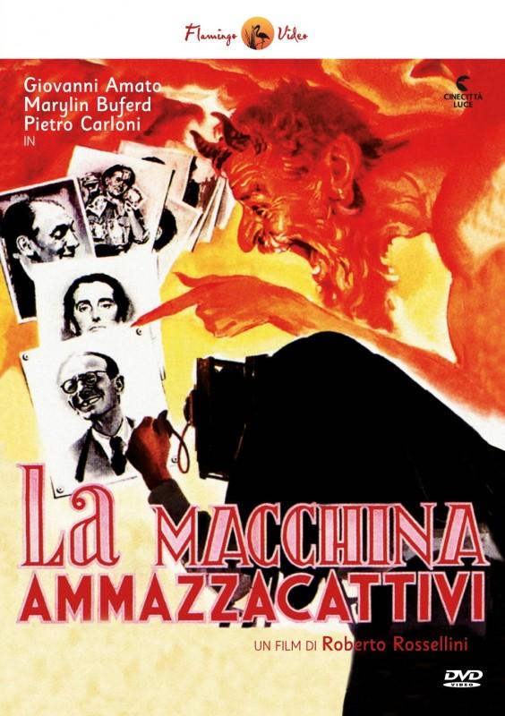 La copertina di La macchina ammazzacattivi (dvd)