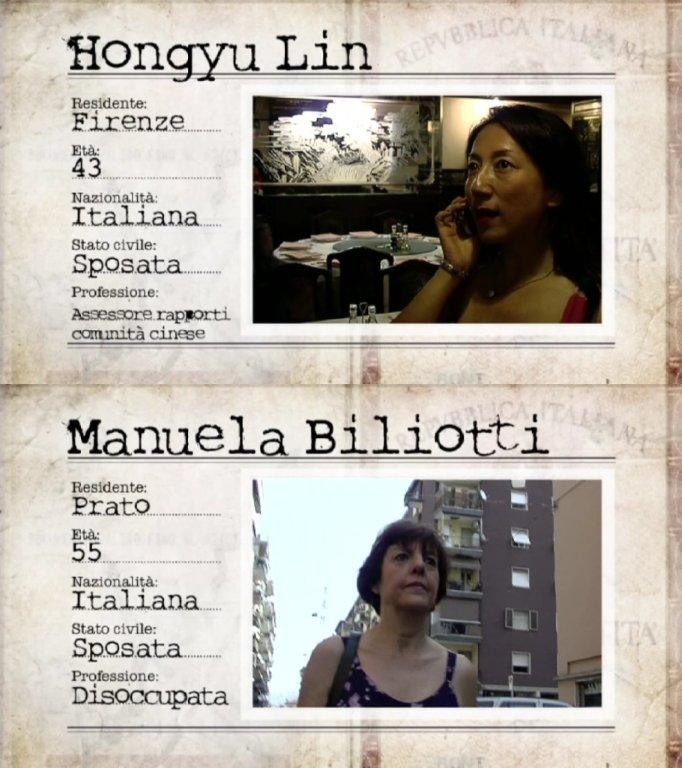 Le due protagoniste della puntata in cui la Toscana incontra la Cina