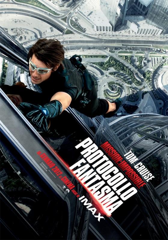Locandina italiana di Mission: Impossible - Protocollo Fantasma