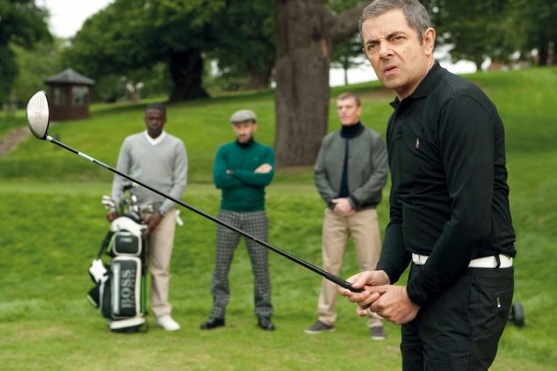 Rowan Atkinson nei panni dell'agente segreto più maldestro della storia in Johnny English: La Rinascita